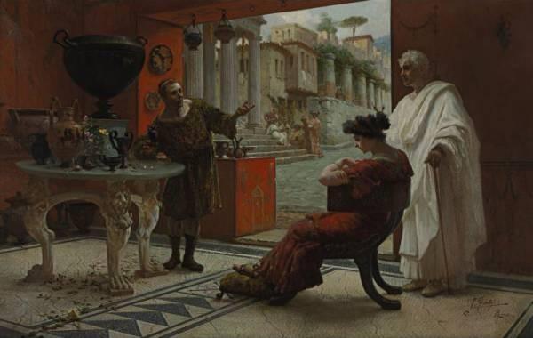The Vendor of Antiquities